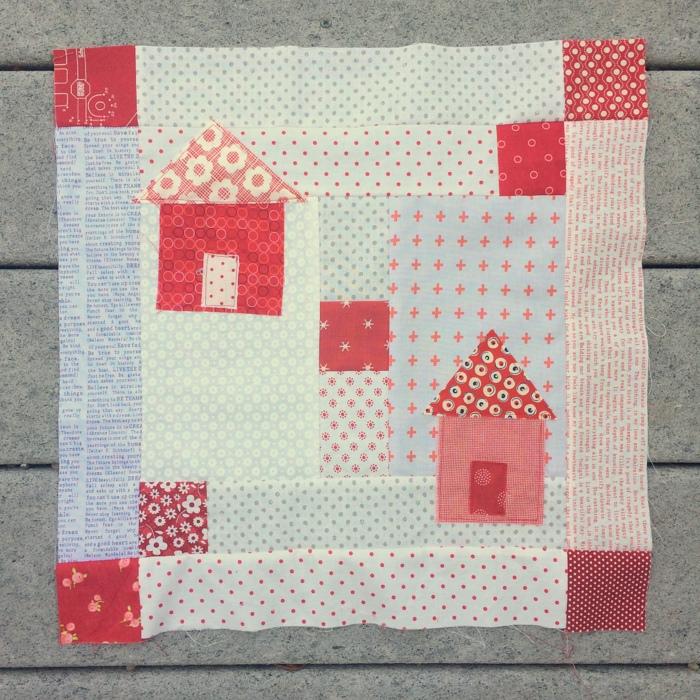 neighborhood quilt block
