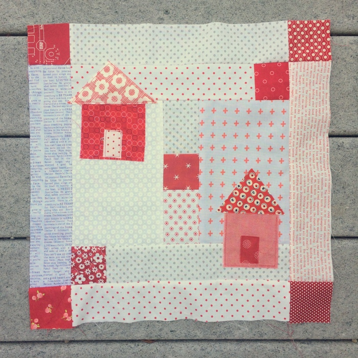 neighborhood quilt block