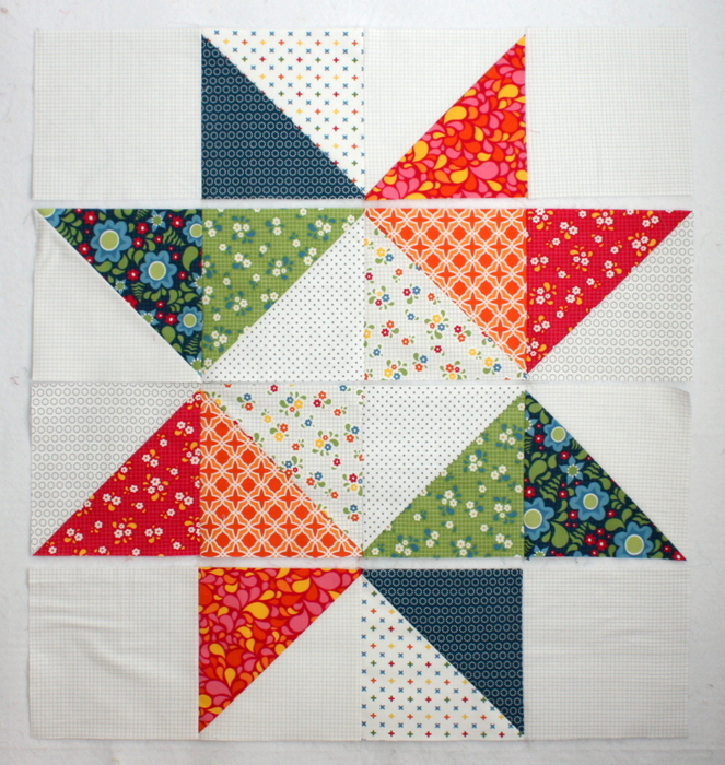 Star Baby Quilt Tutorial layout