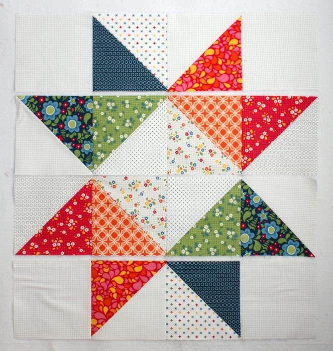 Easy DIY modern Star Baby quilt tutorial : take 5 quilt pattern free - Adamdwight.com