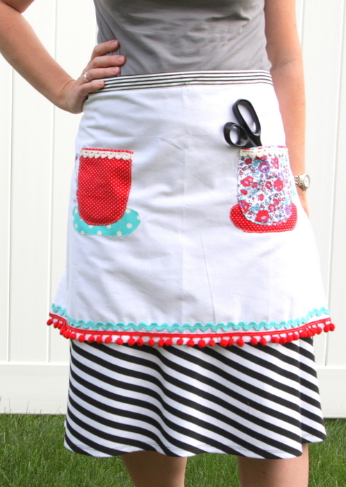 Tea Towel Apron pattern