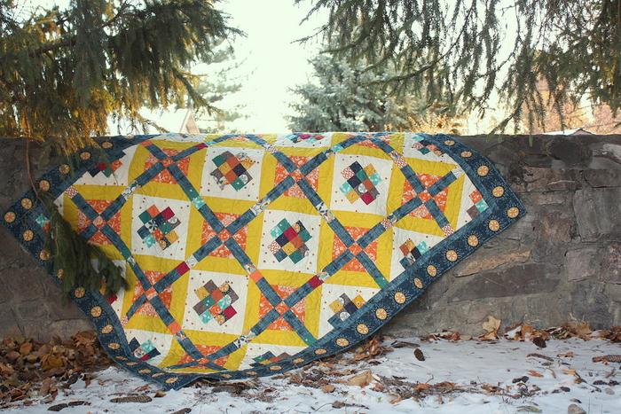 Artisan Watchtower quilt