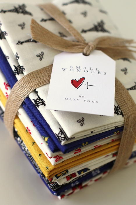 Small Wonders fabric by Mary Fons