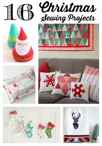 Christmas sewing projects featured by top US quilting blog, Diary of a Quilter