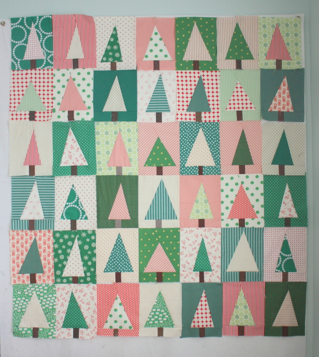 Modern Christmas Tree Quilt Block Tutorial - Diary of a Quilter ...