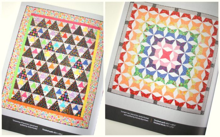 Splash of Color quilts