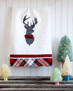 Stylish-Christmas-Deer-Tea-Towel