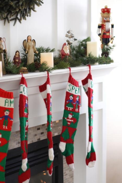 handmade christmas stockings