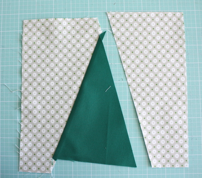sew Christmas Tree quilt block