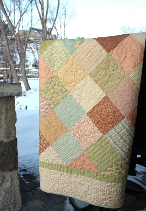 Dandelion Girl quilt
