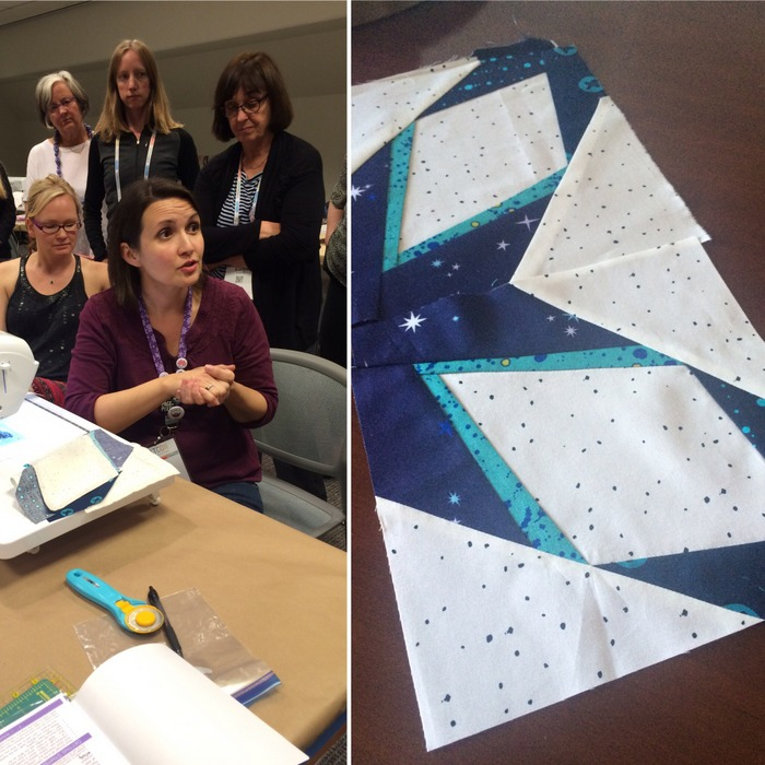 Cristy Fincher Paperless Paper Piecing