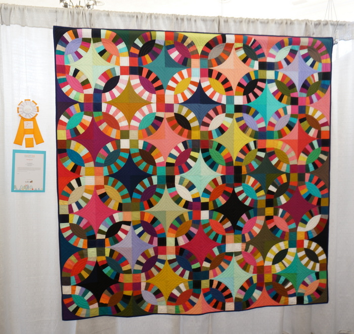 Double Wedding Ring Tara Faughnan QuiltCOn