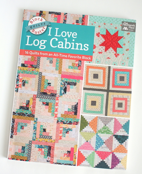 I love log cabins quilt book