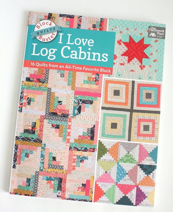 I love log cabins quilt book