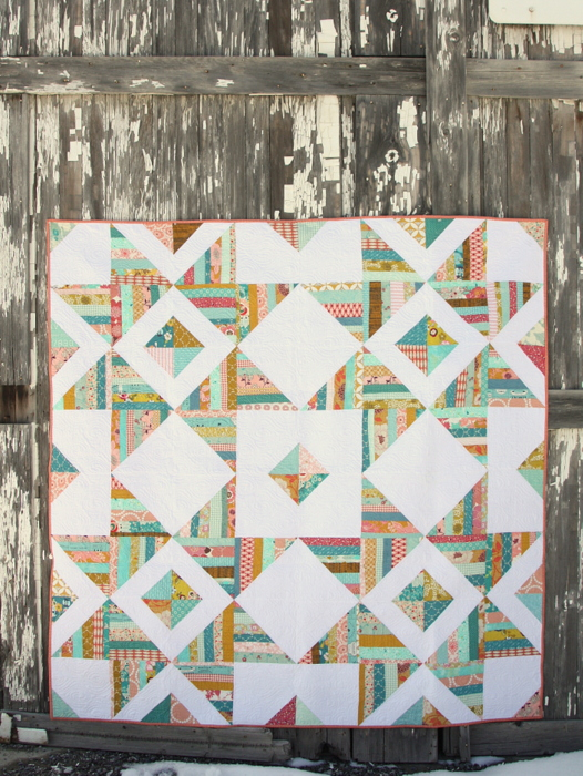 Scraps Star quilt pattern Amy Smart