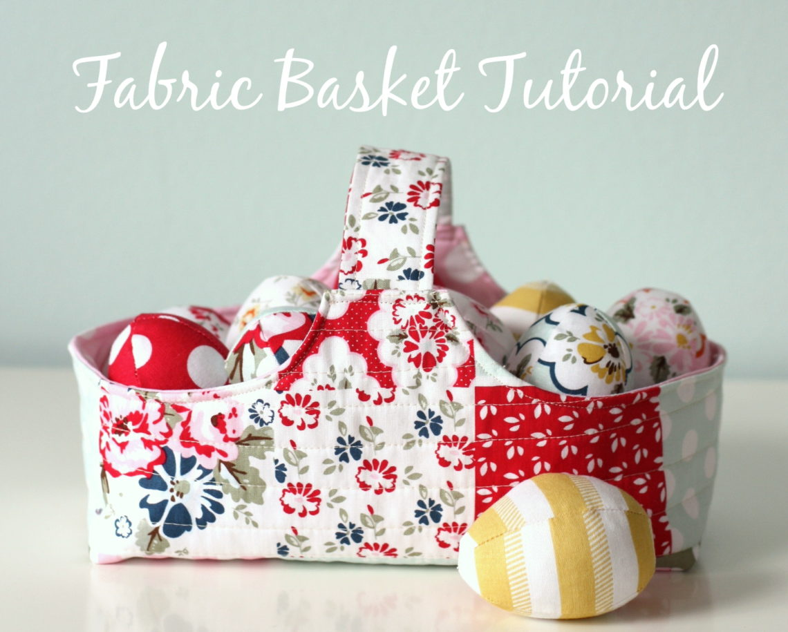 free DIY fabric basket and eggs pattern