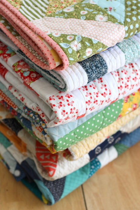 Stack of Quilts