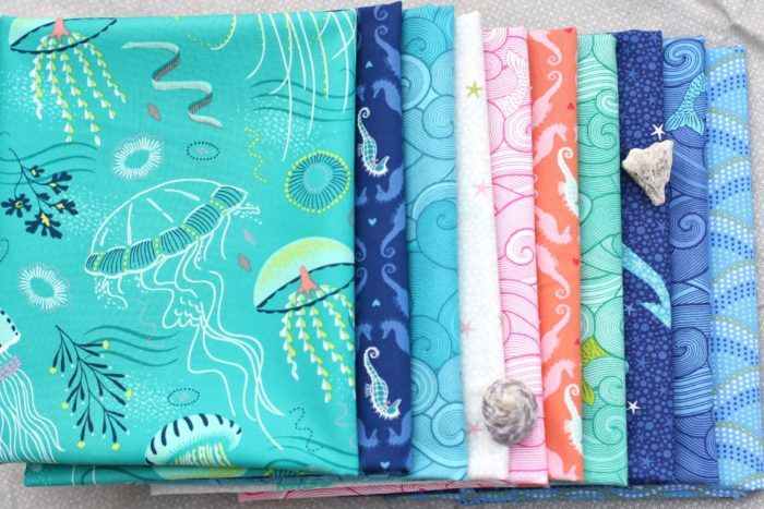 Michael Miller Into the Deep fabrics