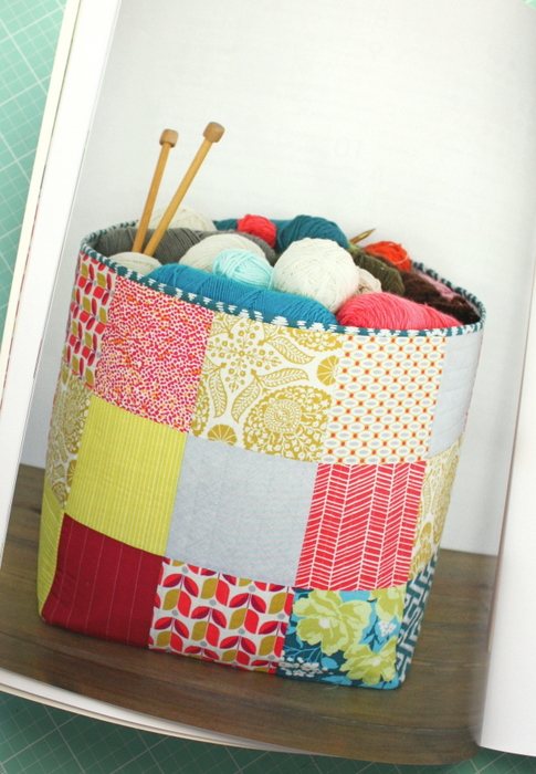 Simple Simon Patchwork Basket