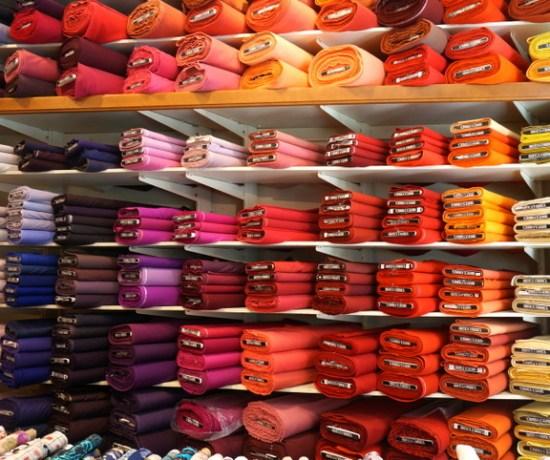 Color Wall Britex Fabrics