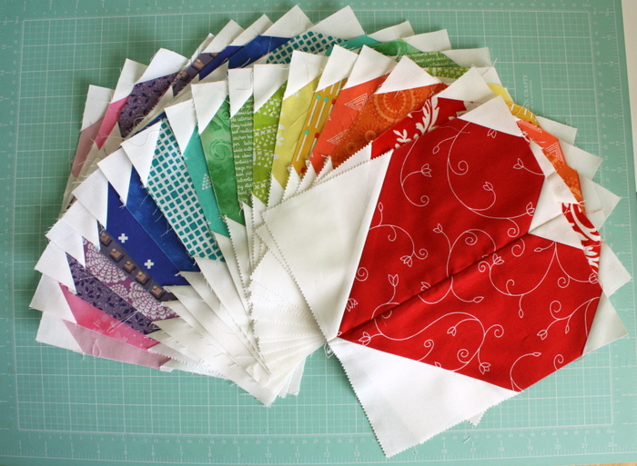 Hearts quilt blocks
