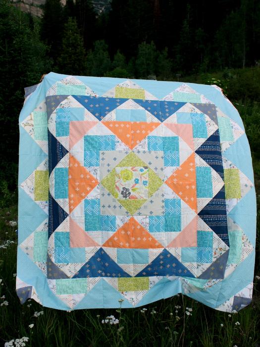 Palisades Quilt Tapestry Art Gallery Fabrics