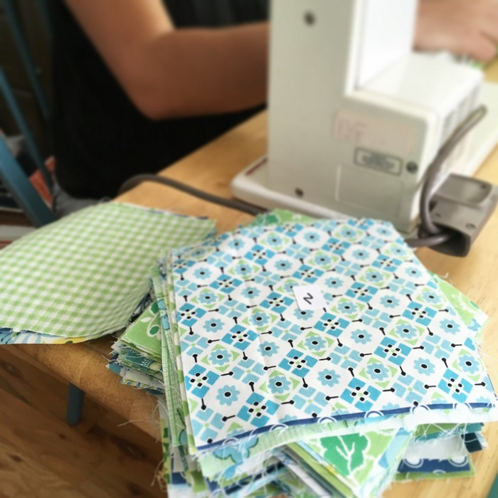 Patchwork sewing