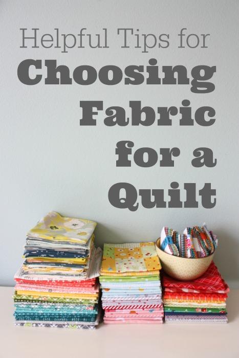 a44189dd2a Choosing Fabric for a Quilt