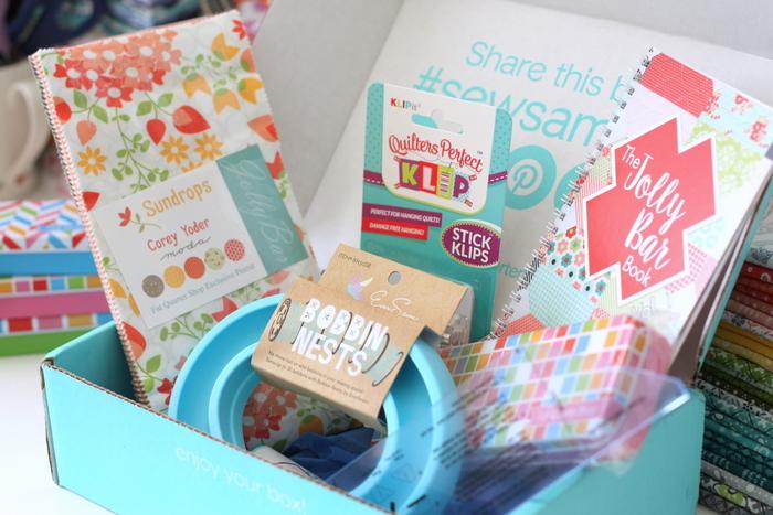 FQS Sew Sampler box August