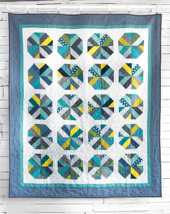 Bushel and a Peck Jelly Roll quilt pattern from Amy Smart