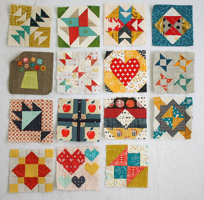 Splendid Sampler Blocks Amy Smart