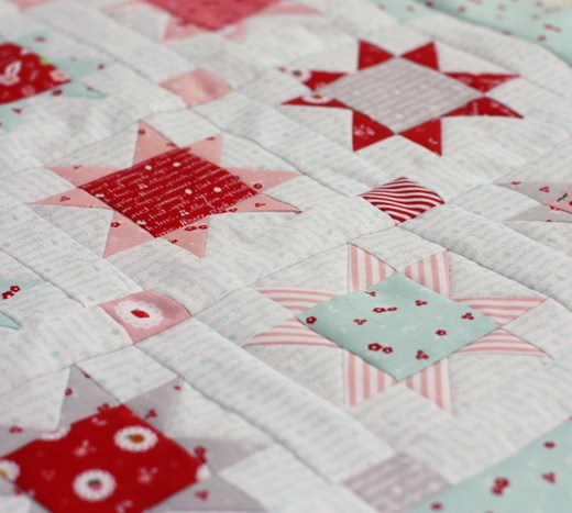 Sweet Orchard patchwork stars