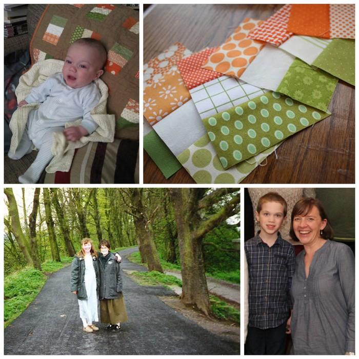 Irish Flag Quilt Story