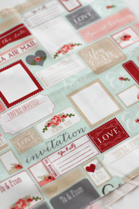 Love note Rustic Elegance fabric Riley Blake