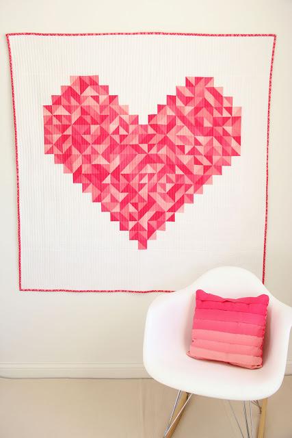 i heart you quilt by Vanessa Christensen