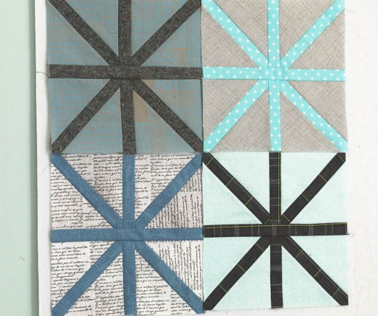Zen Chic modern quilt