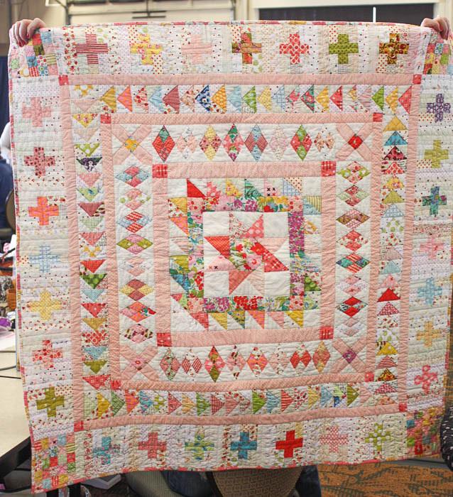 Paula McKinley Medallion quilt