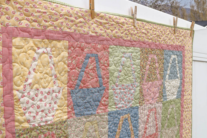 Shabby Chic basket quilt-001