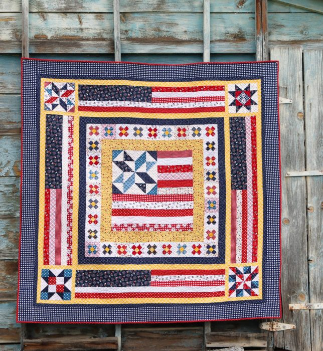 Land that I Love Medallion quilt pattern by Diary of a Quilter