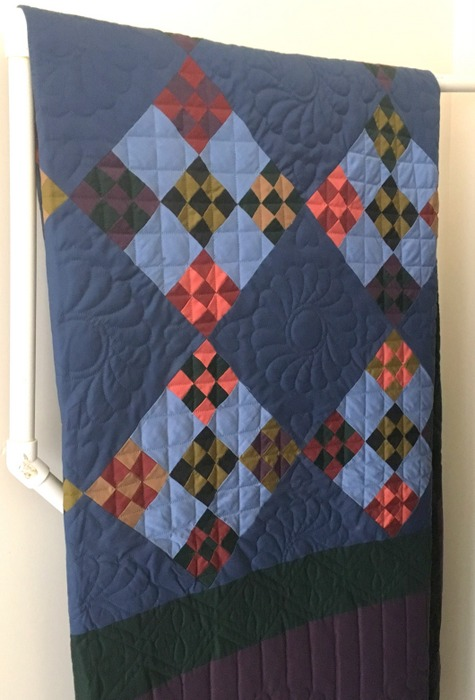 nine patch quilt pattern history