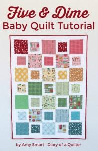 Fast, Beginner friendly, Five & Dime quilt tutorial