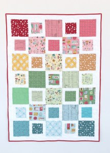 Simple, beginner-friendly baby quilt tutorial
