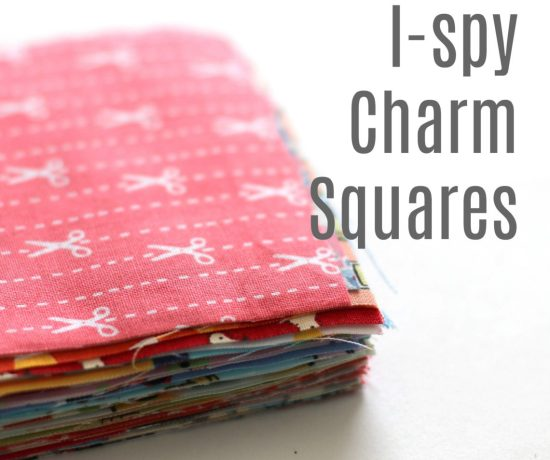 I-spy Charm Squares for quilting