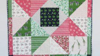 Patchwork Star Baby Quilt Tutorial