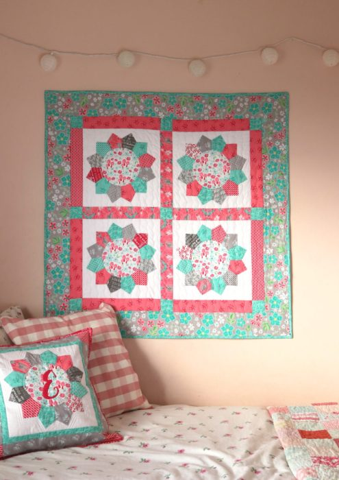Dresden Quilt Blocks With Flora And Fawn Fabric