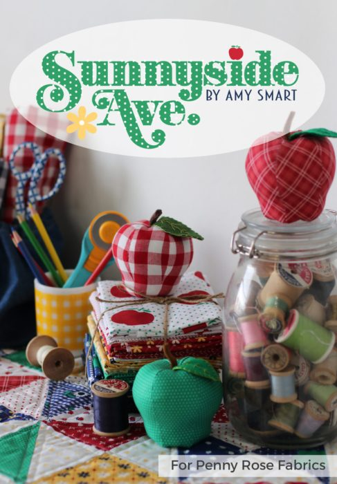Sunnyside Ave fabric collection by Amy Smart for Penny Rose Fabrics