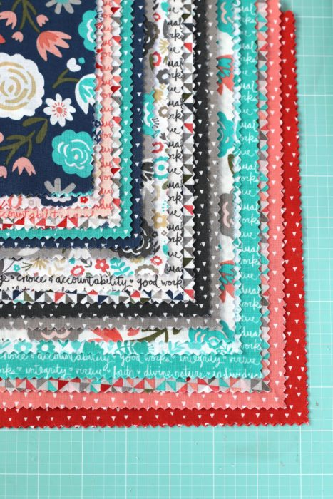 Heart and Soul collection fabric precuts