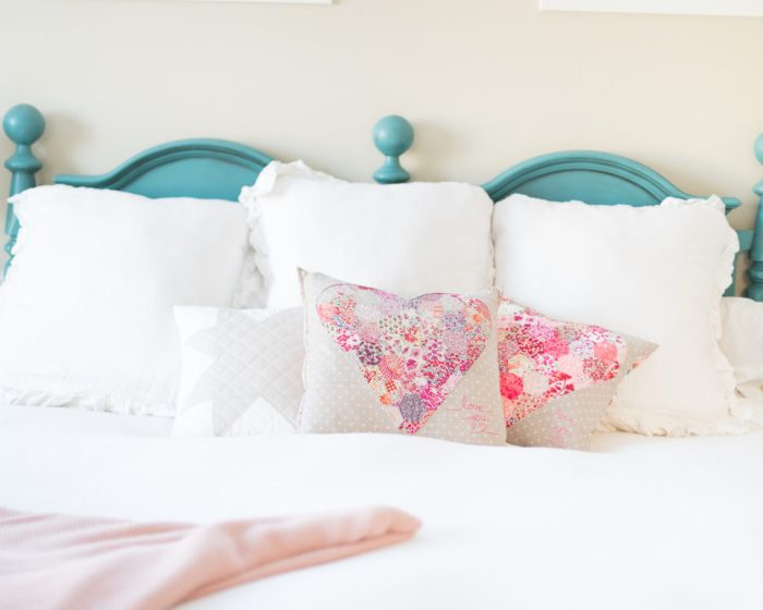Liberty Heart Pillow tutorial from Westwood Acres