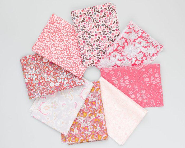 Pink Liberty Tana Lawn fabrics