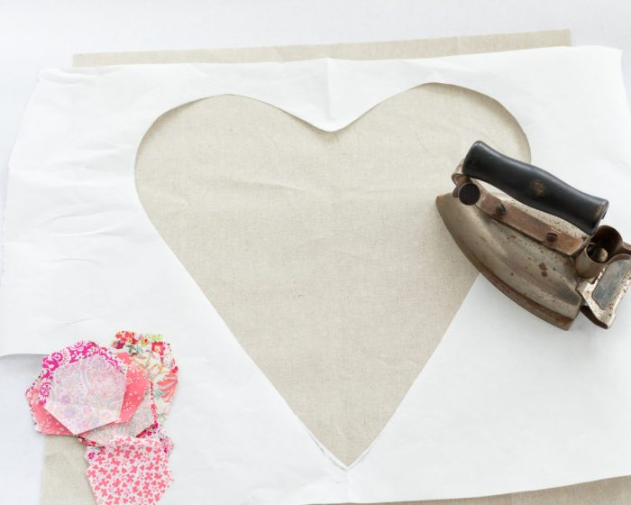 Liberty Heart Linen tutorial